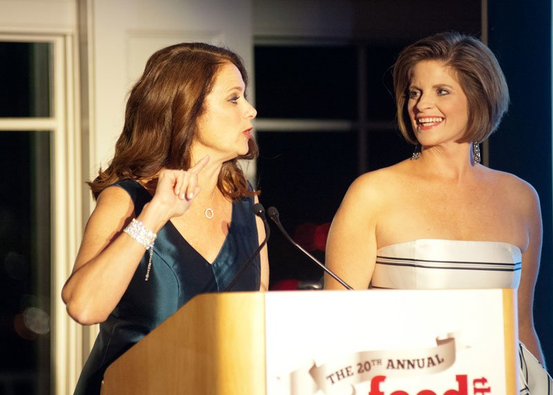 Gala co-chairs, Donna Mavromates, left, and Ally Donnelly.