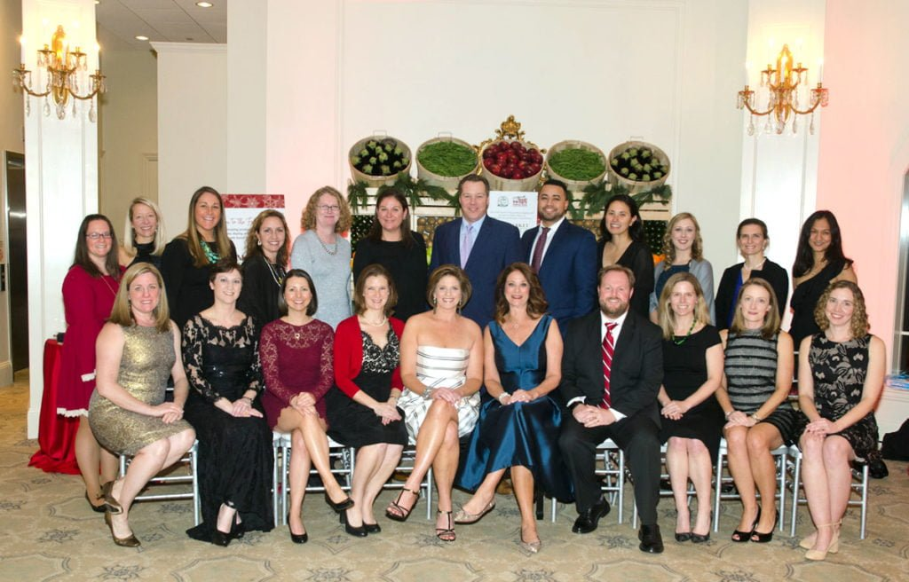 The 2017 Feed the Hungry Gala committee.