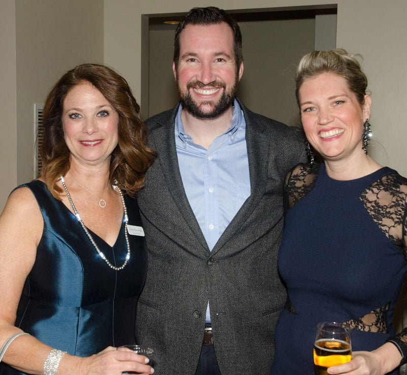 Gala co-chair Donna Mavromates with John and Molly Fabiano. Photo by FayFoto Boston.