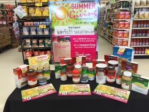 Star Market in Quincy's Summer of Giving to support