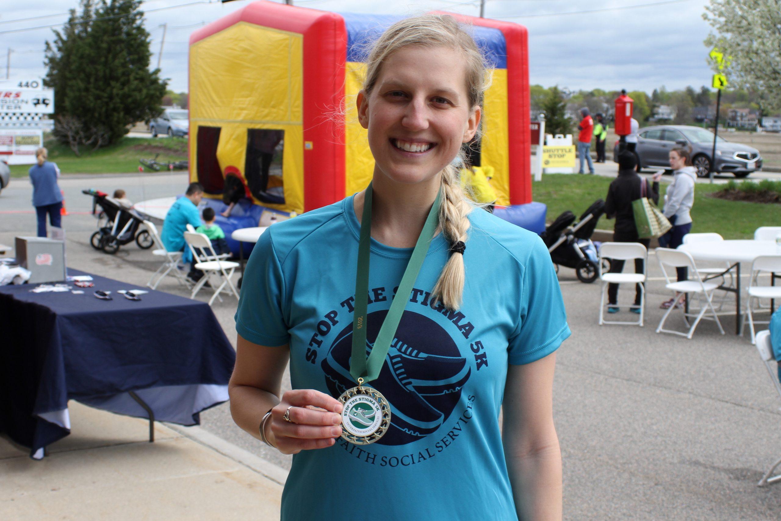 Becca Race Medal