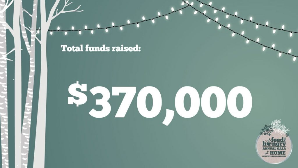 Total funds raised: $370,000