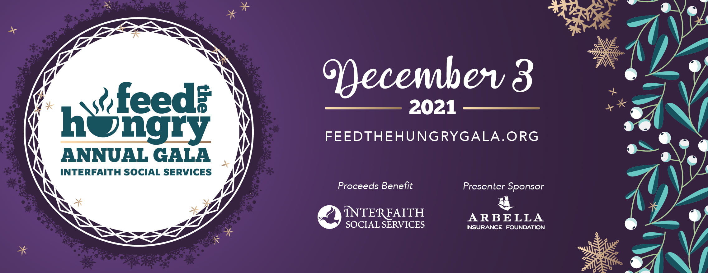 Feed the Hungry Gala - December 3, 2021