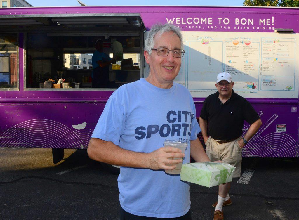 Volunteer Bill O'Neill