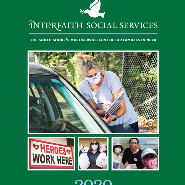 Cover of Interfaith's 2020 Annual Report