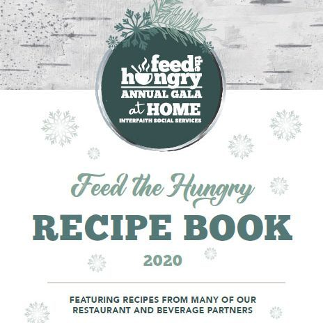 Feed the Hungry Recipe Book cover