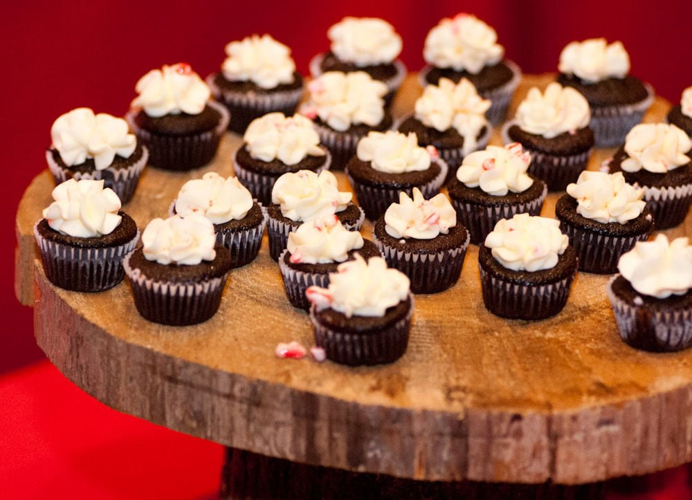 Sadie Mae's chocolate peppermint cupcakes.