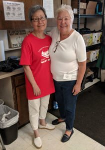 Congratulations to Sarah Fong, our August Volunteer of the Month!