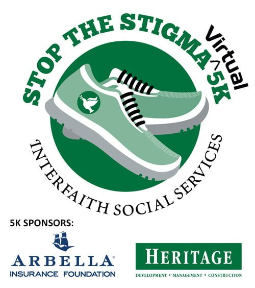 Stop the Stigma Virtual 5K Sponsored by Arbella and Heritage Companies